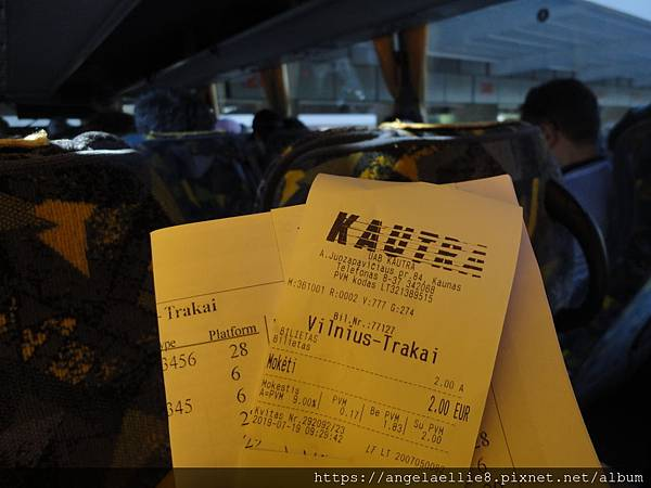 Vilnius Trakai ticket