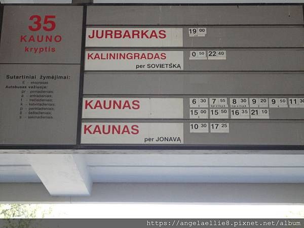 Vilnius Bus Platform