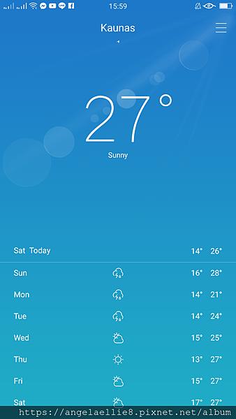 Kaunas weather