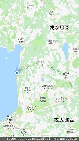 Latvia Estonia border