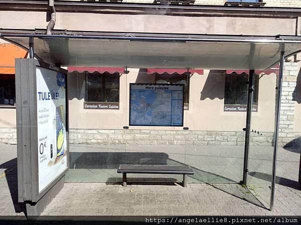 Tallinn hostel bus stop.jpg