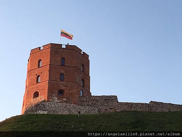 Vilnius 蓋迪米納斯瞭望塔Gedimino pilies bokštas