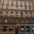 Riga hostel building