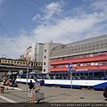 front of Riga Bus Terminal