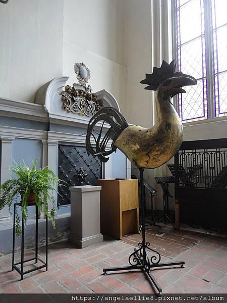 里加主座教堂風向雞