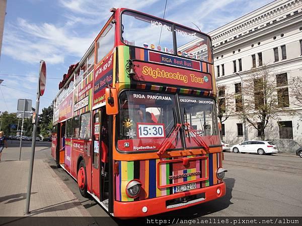 Riga Sightseeing Bus