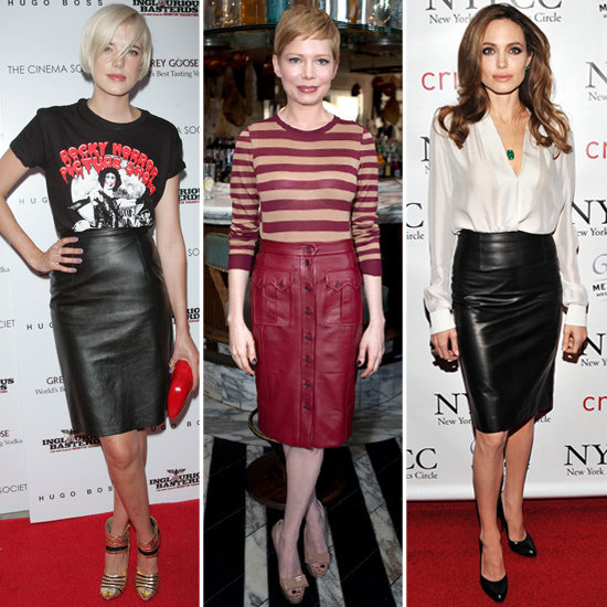 Celebrities-Leather-pencil-Skirts-trend