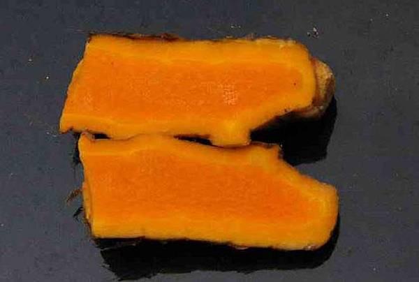 薑黃-莖縱切0