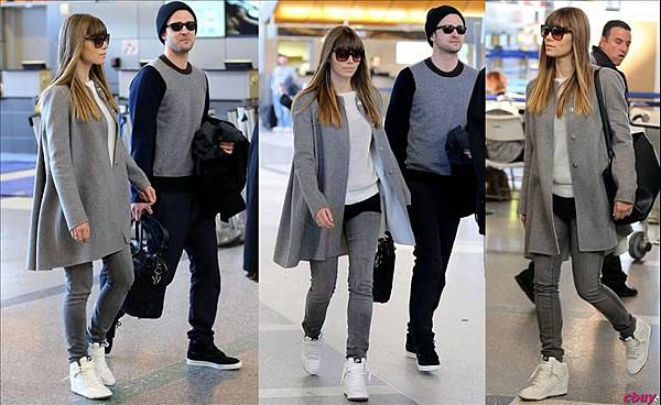 jessica-biel-justin-timberlake-grey-wool-coat-silver-white-knit-sweater-grey-skinny-jeans-tom-ford-lydia-sunglasses-white-nike-dunk-sky-hi-wedge-sneaker-90