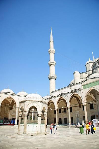 土耳其藍色清真寺