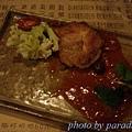雞腿醮磨菇醬