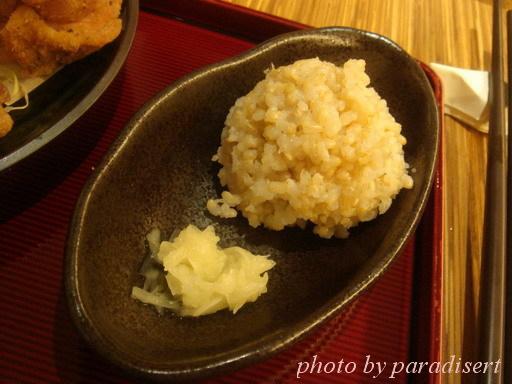 發芽玄米飯