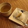 玄米茶與麻薯冰淇淋