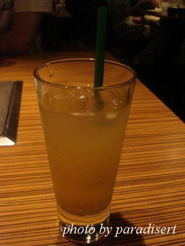 附餐飲料~鳳梨香蘋汁