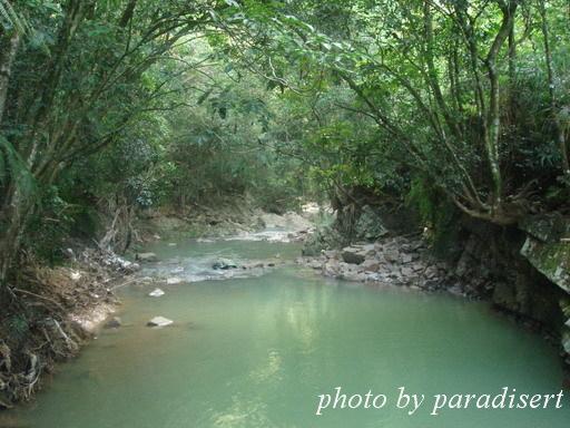 卡玫基過後幾天,河水很混濁