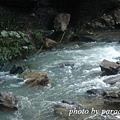 小湍急的河水