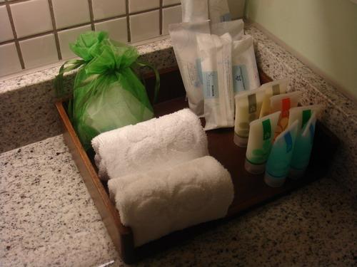盥洗用品一應俱全