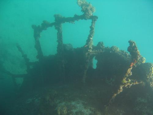 日軍沉艦區