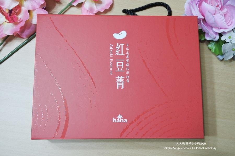 聯夏食品-hana-紅豆菁禮盒2