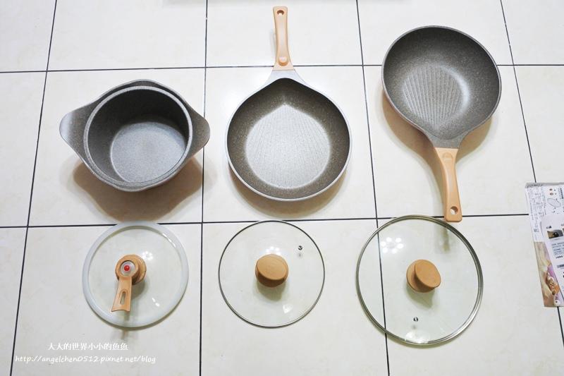瑞士百年品牌粉貝殼不沾鍋三鍋六件組5