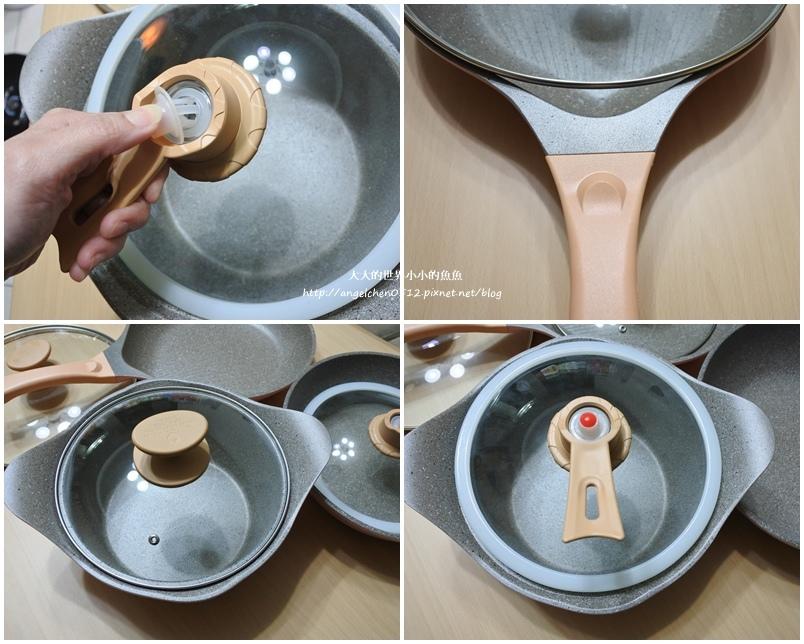 瑞士百年品牌粉貝殼不沾鍋三鍋六件組11