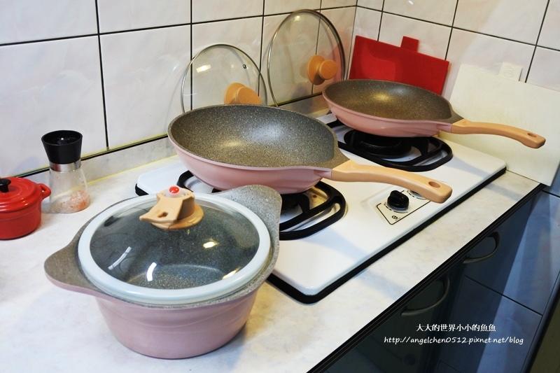 瑞士百年品牌粉貝殼不沾鍋三鍋六件組13