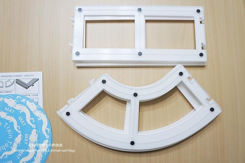 長方桌旋轉餐盤3