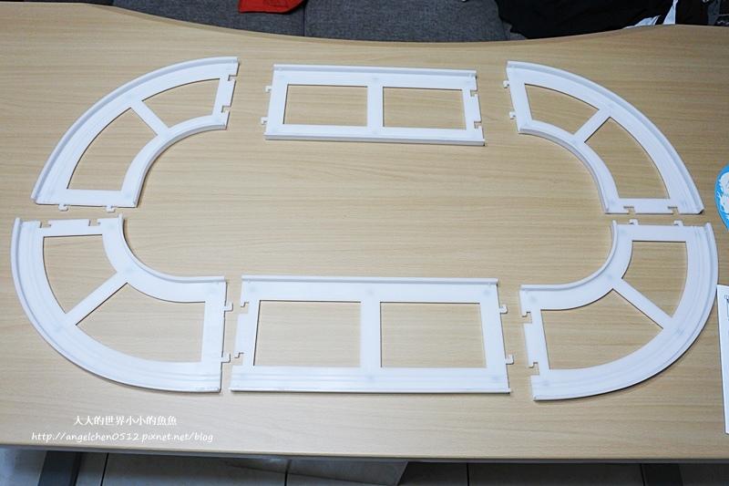 長方桌旋轉餐盤4