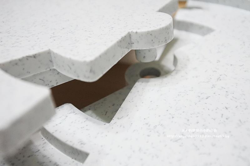 長方桌旋轉餐盤10