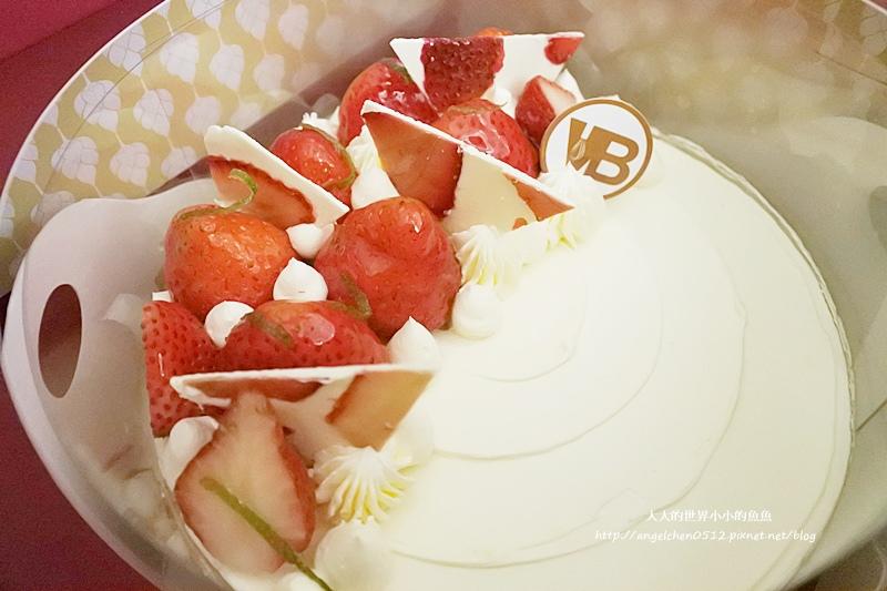白森林草莓伯爵香緹慕斯蛋糕