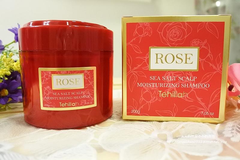 玫瑰彈潤海鹽洗髮膏  玫瑰果油全能修護素3