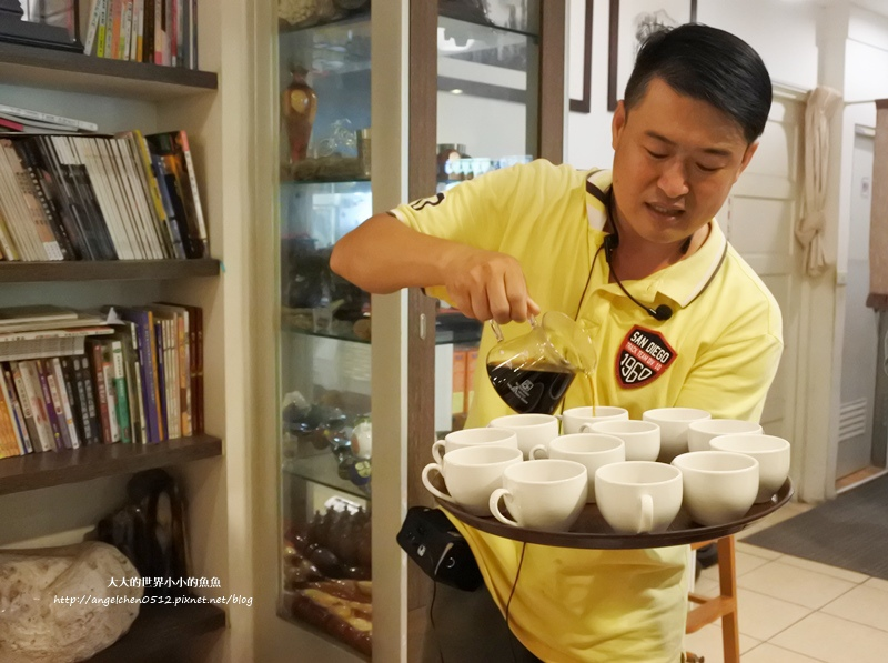 雲林景點 古坑景點 谷泉咖啡莊園的王建民  台灣咖啡的歷史  古坑咖啡深度導覽19