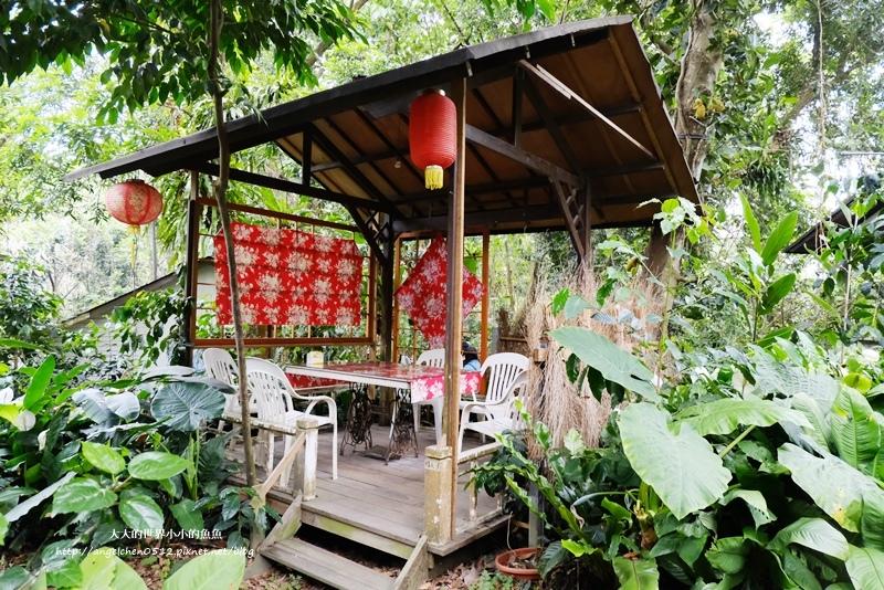 雲林景點 古坑景點 古坑祕境 竽芯園庭園咖啡  荷苞山竽芯園美食屋3