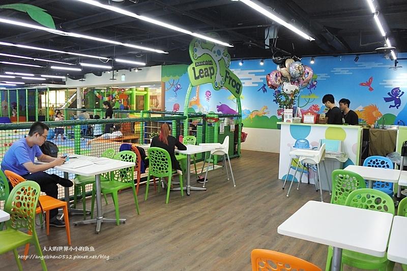 松山區親子餐廳 京華城  跳跳蛙親子運動餐廳3