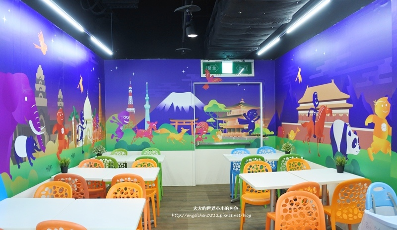 松山區親子餐廳 京華城  跳跳蛙親子運動餐廳15