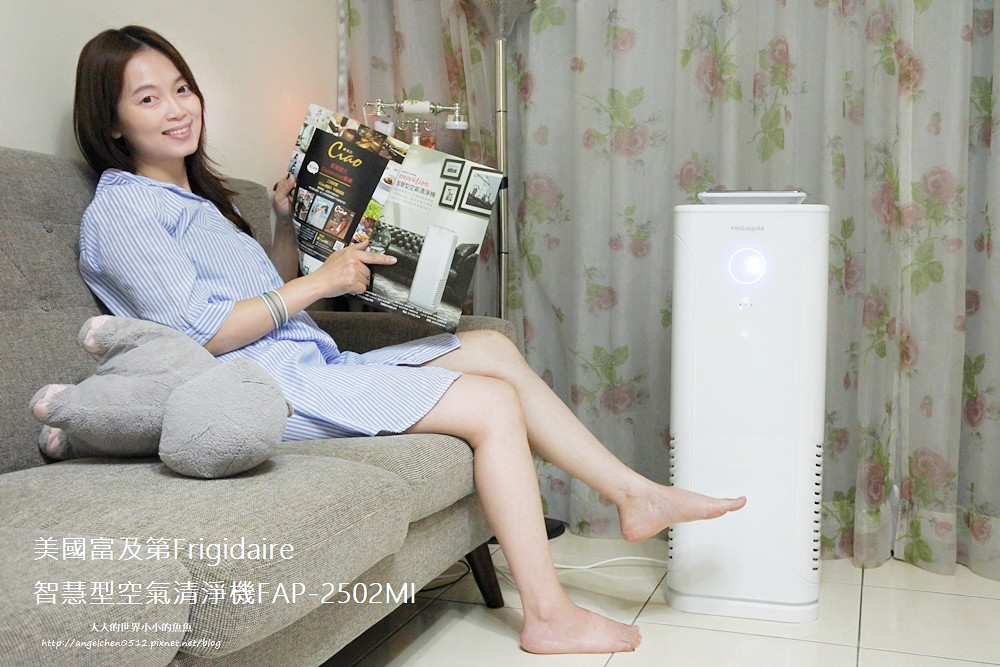 FRIGIDAIRE智慧型空氣清淨機  極簡風空氣清淨機 抗空污 voguetaiwan VOGUE快閃電19