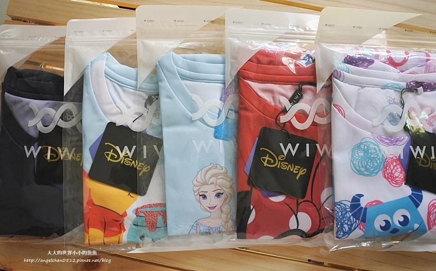 WIWI防曬排汗涼感T  迪士尼正版授權 木糖醇涼感1