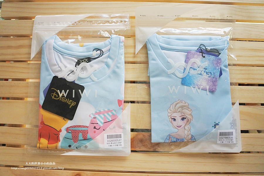 WIWI防曬排汗涼感T  迪士尼正版授權 木糖醇涼感2