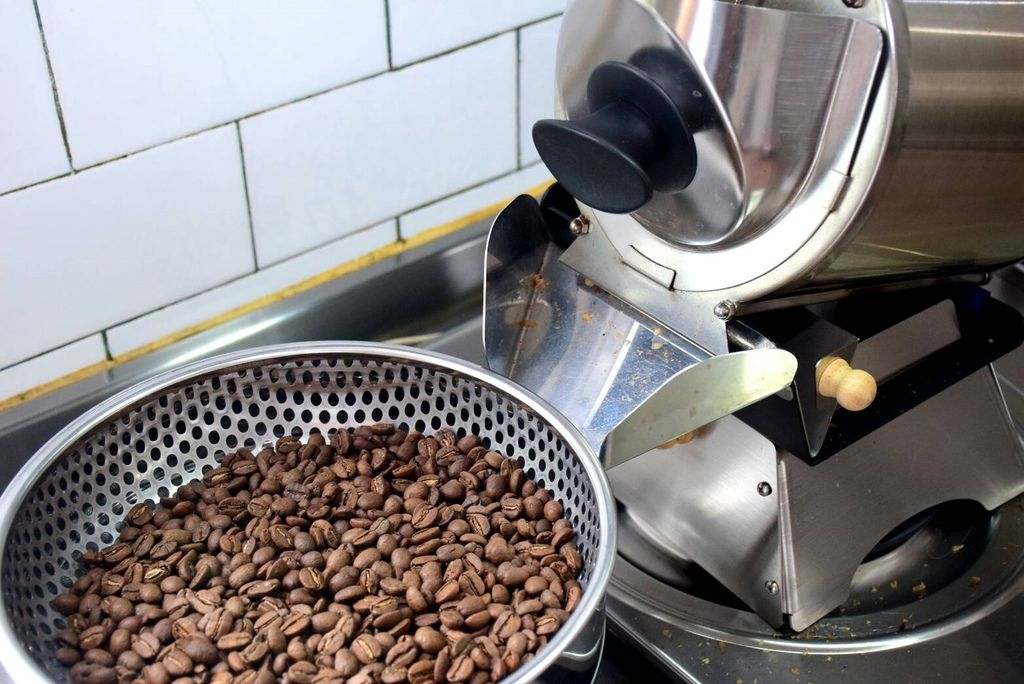 咖啡烘焙機  台灣最紅家用烘焙機 進豆出豆10分鐘輕鬆烘好豆 Rotate Fun 300 plus 小型咖啡烘豆機