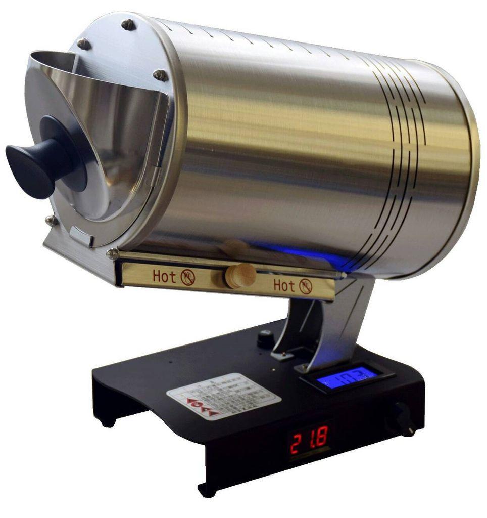 咖啡烘焙機  台灣最紅家用烘焙機 進豆出豆10分鐘輕鬆烘好豆 Rotate Fun 300 plus 小型咖啡烘豆機1