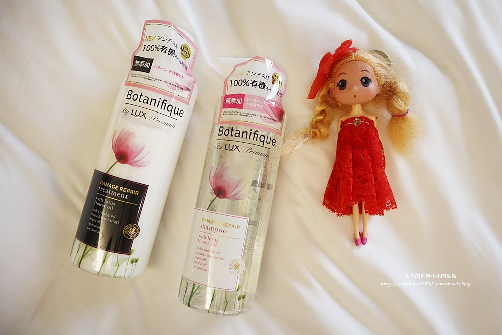 LUX Botanifique  麗仕瑰植卉 玫瑰果油洗髮2