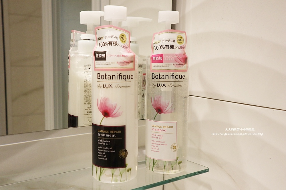 LUX Botanifique  麗仕瑰植卉 玫瑰果油洗髮6