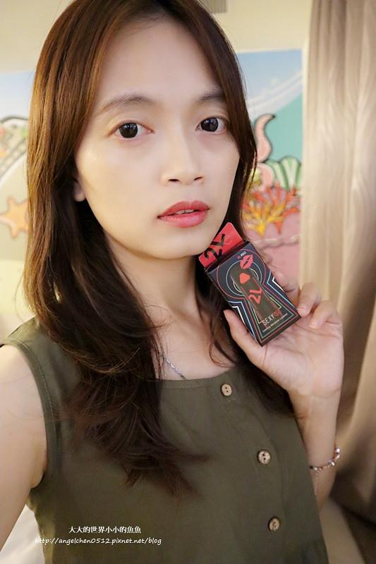 86小舖Miss Hana粉底液  Sexy Q 舔言秘語蘑菇潤澤唇膏15