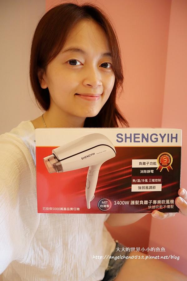 吹風機推薦 國民小白機 Sheng Yih 沙龍級雙負離子護髮大風量吹風機 雙負離子機4