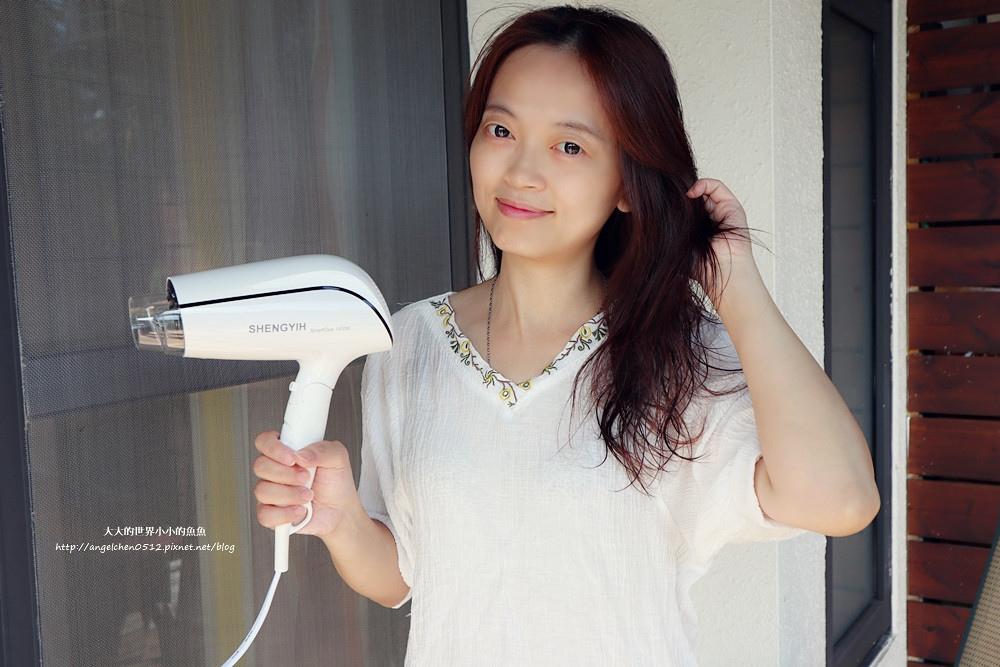 吹風機推薦 國民小白機 Sheng Yih 沙龍級雙負離子護髮大風量吹風機 雙負離子機12