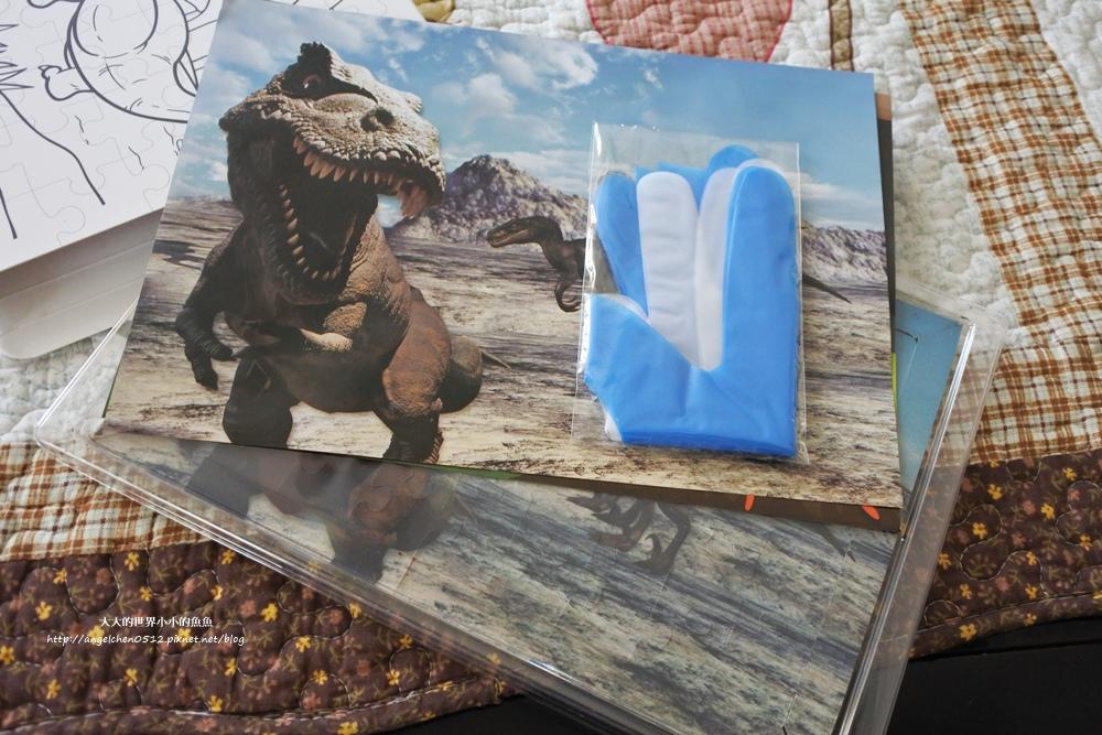 木匠手作 創意甜點禮盒    恐龍拼圖巧克力13
