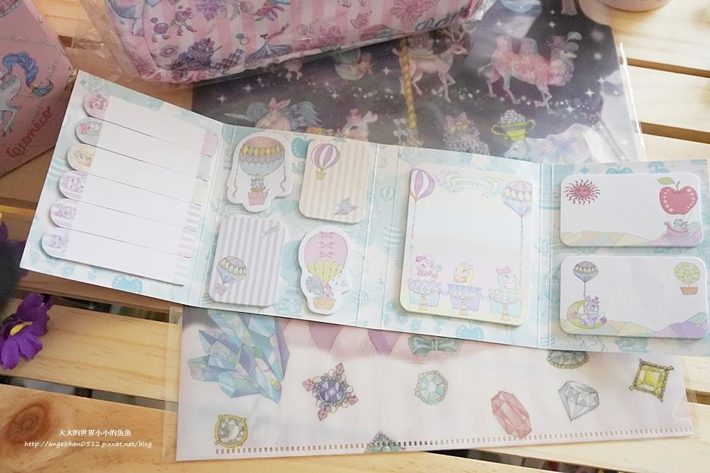 ECONECO夢幻化妝包、療癒系文具小物14