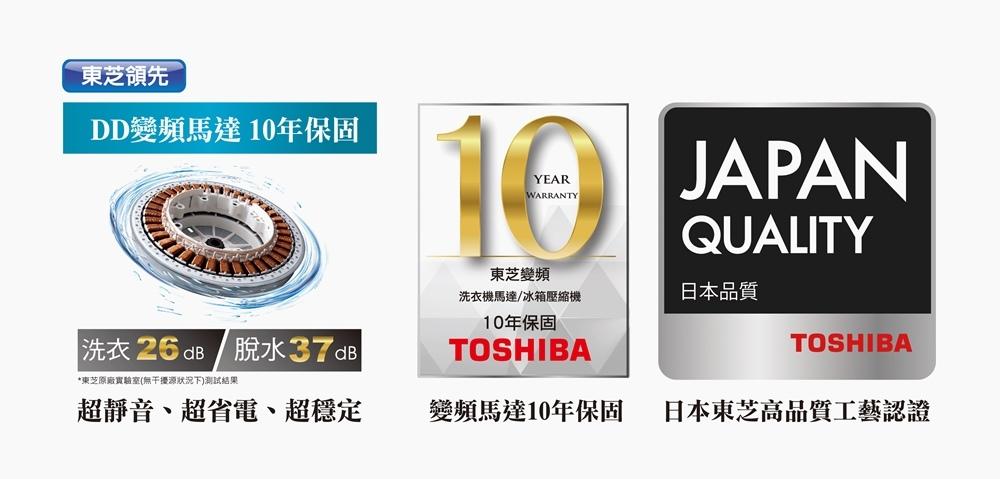 TOSHIBA變頻洗衣機 變頻奈米泡泡洗衣機  奈米深層淨化  TOSHIBA21