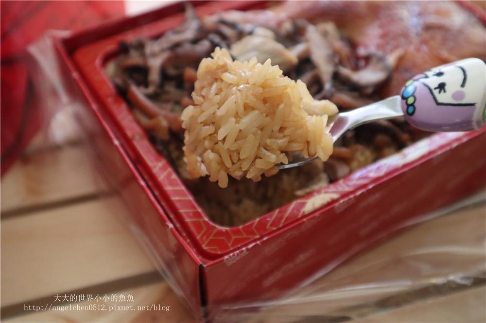 呷七碗 彌月試吃 宰相肚油飯禮盒 烤雞腿油飯51