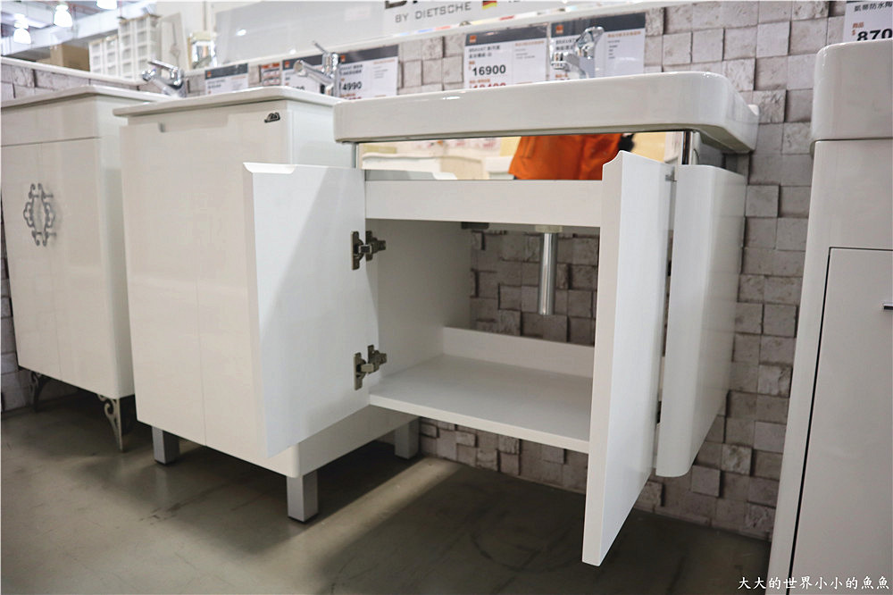 特力屋獨家代理 BRAVAT U型實木多層浴櫃  36_